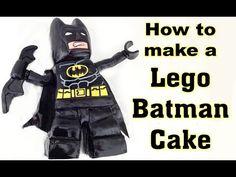 ▶ Lego Batman Cake HOW TO COOK THAT Lego Movie Cake Ann Reardon - YouTube