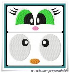 Meilensteine StickTime - Augen Freebie 10 x 10