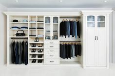 Custom closets that reflect your style, your wardrobe, your space, and your budget. We work with you to create the perfect closet design for you.