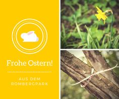 Frohes Ostern aus dem Rombergpark Cover