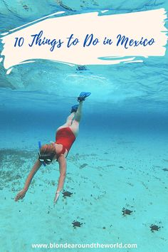 10 Things to do in Mexico Travel Blog, Travel Articles, Amazing Destinations, Travel Destinations, Stuff To Do, Things To Do, Cozumel, Wanderlust Travel, Tulum