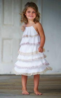 Tea Princess, vestidos románticos para niñas, moda de verano para niña de Tea Princess Minimoda.es