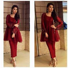 Latest Peplum Tops Designs And Short Frocks Collection Pakistani Formal Dresses, Pakistani Fashion Casual, Pakistani Dress Design, Pakistani Outfits, Indian Dresses, Indian Outfits, Indian Fashion, Eid Outfits, Women's Fashion