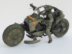 rocketumbl: わき Heuschrecke Just look at this thing! That's one of the coolest looking bikes I've seen. Gi Joe, Moto Enduro, Concept Motorcycles, Sci Fi Models, Sci Fi Armor, Futuristic Cars, Mechanical Design, Maker, War Machine