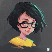 Female Death Eater by Vince Ruz on ArtStation.