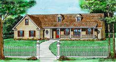 SPRINGFIELD House Plan - 4465.  I kind of like the great room area.