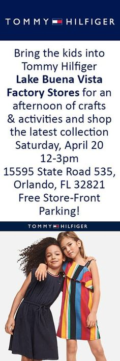 89c6a534 Lots of fun for the kiddies. Tommy Hilfiger at the Lake Buena Vista Factory  Stores