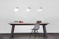dreizehngrad /// DUB pendant lamp /// white