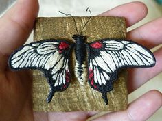 Tiny stitching - more stumpwork flora and fauna [pic heavy!] - NEEDLEWORK