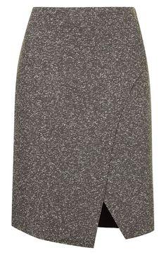 Topshop Neppy Wrap Skirt   Nordstrom