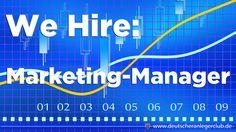 Wir suchen eine/n Marketing-ManagerIn für Medienkampagnen und PR http://deutscheranlegerclub.de/marketing-manager/
