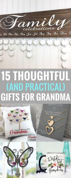 Practical christmas gifts for grandma