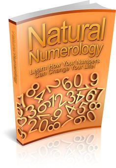 Natural Numerology ebook – Sacred Goddess Inc