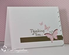 LIM Pink and Brown Thoughts by atsamom - Cards and Paper Crafts at Splitcoaststampers