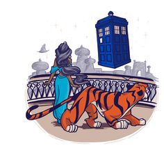 """A Whole New Universe"", Doctor Who + Disney shirt, by khallion"