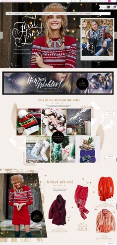 12 Cheerful Examples of #Holiday #Homepage #Designs