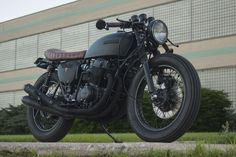 Wabi-Sabi - Honda CB750K Custom Cafe Racer - Can I just have this!!!