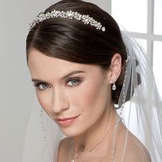 Matching Headpiece with Veil -