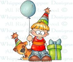 Ashton - Birthday Images - Birthday - Rubber Stamps - Shop