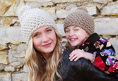 Easy DIY Project Ideas for Kids Clothes - Quick Crocheting Tutorials for Beanies - DIY Projects & Crafts by DIY JOY at http://diyjoy.com/quick-diy-projects-fast-crafts-ideas