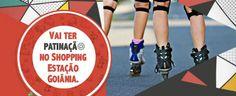 Hoje, até às 19h, tem aulão de patinação no Shopping Estação Goiânia. Saiba mais informações no site Arroz de Fyesta.