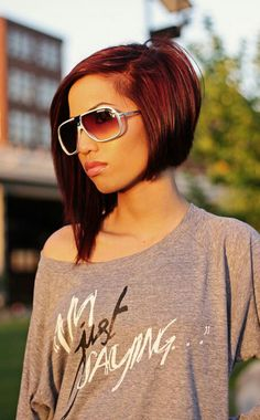 A-symmetrical bob. My next haircut!!! In a couple of weeks. :)