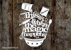 Silhouette Cameo SVG Papercutting file 'This is por SASCreative