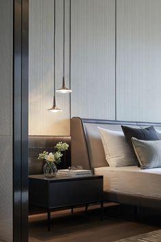 Modern Bedroom Design, Home Room Design, Master Bedroom Design, Home Bedroom, Interior Design Living Room, Bedroom Decor, Modern Luxury Bedroom, Luxurious Bedrooms, House Rooms
