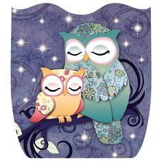 love the colors and the owls deco bolsas pinterest belle niedliche illustration und. Black Bedroom Furniture Sets. Home Design Ideas