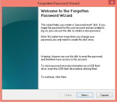 Create a password reset disk in Windows 8 or 8.1 We don't usually forget our PC's password but there are occasions when you need to reset the password. Or if you forget the password, you can always reset it. This tutorial is for only Windows 8 or 8.1 and Windows RT 8 or 8.1.