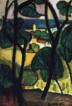 View of Collioure - Henri Matisse