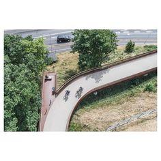 Pedestrian Bridge, Jobs Apps, Aarhus, School Architecture, Copenhagen, Denmark, Fields, Behance, Instagram
