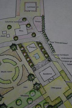 schematic landscape plan