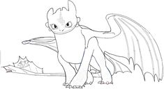 Toothless Dragon Coloring Page . toothless Dragon Coloring Page . How to Train Your Dragon Hiccup and toothless Coloring Baby Toothless, Toothless Drawing, How To Draw Toothless, How To Train Your, How Train Your Dragon, Free Coloring Pages, Coloring Sheets, Coloring Book, Minecraft Coloring Pages