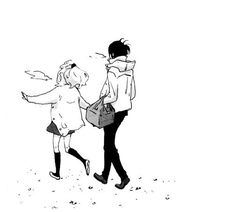 Find images and videos about love, anime and kawaii on We Heart It - the app to get lost in what you love. Anime Cupples, Kawaii Anime, Comic Style Art, Manga Poses, Bff, Romantic Manga, Manga Cute, Cool Anime Girl, Manga Illustration