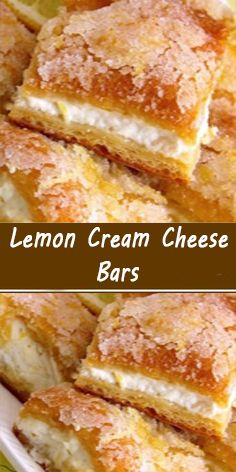 Lemon Cream Cheese Bars, Cream Cheese Crescent Rolls, Cheesecake Recipes, Cookie Recipes, Dessert Recipes, Pecan Recipes, Chef Recipes, Baking Recipes, Healthy Recipes