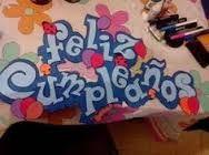 Resultado de imagen para letreros para cumpleaños con fomi