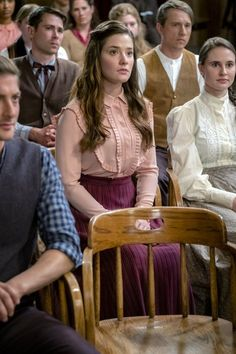 """Check out photos from the season 4 episode of Hallmark Channel's When Calls the Heart, """"Heart of Truth. Love Comes Softly, Daniel Lissing, Erin Krakow, Jack And Elizabeth, Lori Loughlin, Great Tv Shows, Serious Relationship, Hallmark Channel, Book Show"""