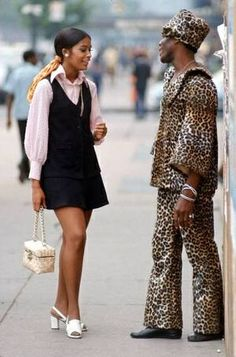 """LOL!    New York fashion 1969.~    """"No, I can't give you my phone number, because you remind me of my bedspread."""""""