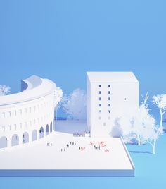 Tirana Supreme Court | UHO is an architecture studio led by Adrien Durrmeyer and…
