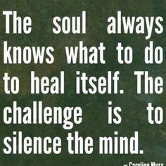 Calm soul quiet mind calineyney