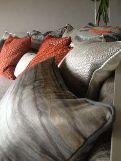 Cushion dressings by BETTS INTERIORS