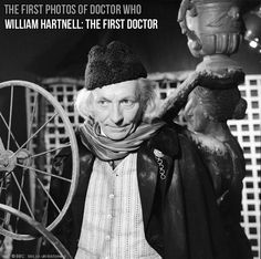 William Hartnell - first photographs of DW