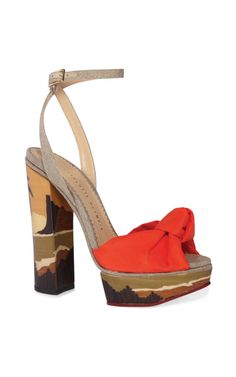 Boudoir Peppermint Pump by Charlotte Olympia Now Available on Moda Operandi