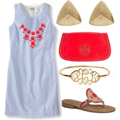 Love this outfit! Perfect for a day out or even a special occasion!