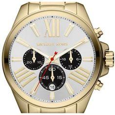 Amazon.com: Michael Kors Wren Chronograph Silver Dial Gold-tone Ladies Watch MK5838: Michael Kors: Clothing