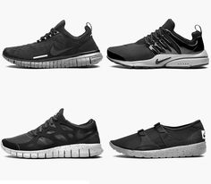 bf6dd42489d6dc Nike Genealogy of Free 10th Anniversary-Black Pack Nike Free Trainer