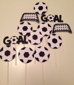 Fútbol Cupcake Toppers (12count)