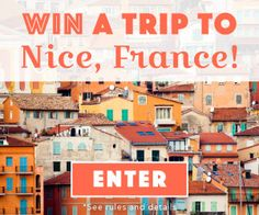 Take that vacation you've been craving all year. Get away to a luxury hotel in beautiful France, on us! Enter: tastingtable.com/france2015