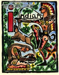 I Indian, Walter Anderson